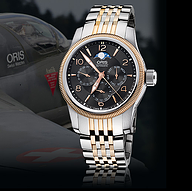 描述 型号:01 581 7627 4364-07 8 20 78 Oris Big Crown多功能月相...