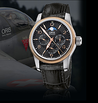 描述 型号:01 581 7627 4364-07 5 20 76FC Oris Big Crown多功能...