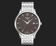 描述 TISSOT TRADITION GENT T063.610.11.067.00