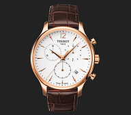 描述 TISSOT TRADITION CHRONOGRAPH T063.617.36.037.00