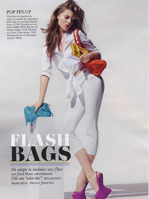 Glamour - FRANCE - Flash bags