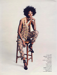 描述 Io donna - ITALY - Imprinting afro 10/03/12 - issue 11 - page 152