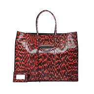 描述 BALENCIAGA PAPIER A4 SERPENT PEINT RED/BLACK   $3,350.00