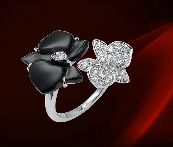 CARTIER  CARESSE D'ORCHIDÉES  PAR CARTIER戒指