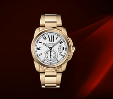 描述 CARTIER CALIBRE DE CARTIER腕表